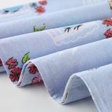 红富士床上用品纯棉四件套全棉斜纹被套床单四件套 1.5/1.8m床 洛丽亚 JDFN-3