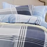 红富士床上用品纯棉四件套全棉斜纹被套床单四件套 1.5/1.8m床  温暖之家FN-18