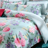 红富士生态家纺简约四件套 全棉床上品四件套纯棉四件套   真国色FN16A